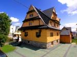 Ząb - Góralski drewniany dom