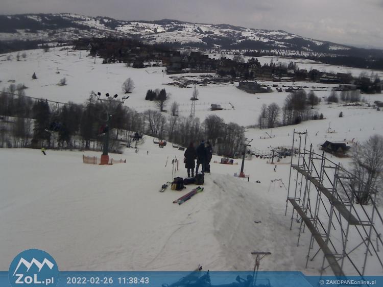 Bukowina Tatrzańska - stok narciarski Olczański Wierch